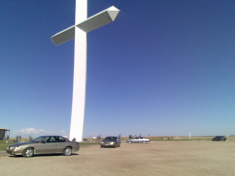 at the biggest cross in texas